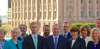 Regeringen Löfven 2015 Wikimedia Commons