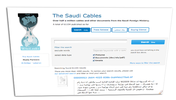Wikileaks Saudi Cables