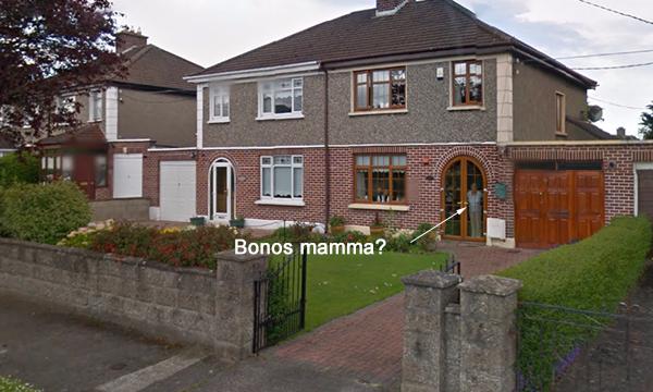 Cedarwood Road 10 - Dublin - Bono U2 childhood address