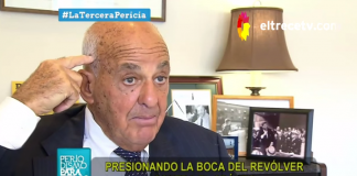 Cyril Wecht forensic investigates the death of Alberto Nisman in 2015 - Source: El Trece TV