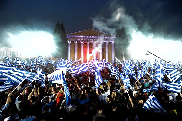 Greek elections 2015 - Photo: thenewinquiry.com