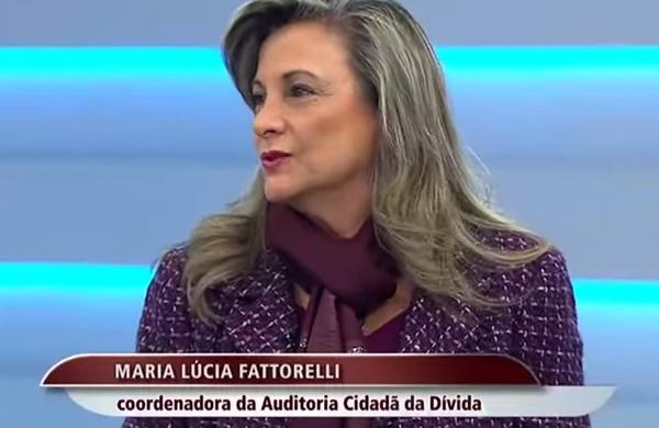 Maria Lúcia Fattorelli - TV Brasil