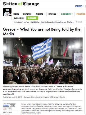 Nation of Change Greece 2015