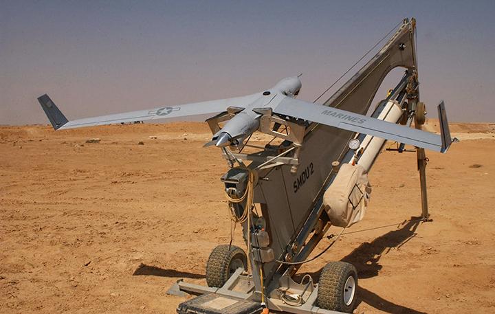 ScanEagle UAV catapult launcher 2005-04-16 - Foto: Wikimedia Commons
