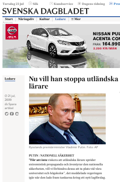 SvD Putin