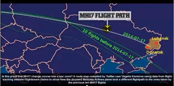 mh17-flight-path
