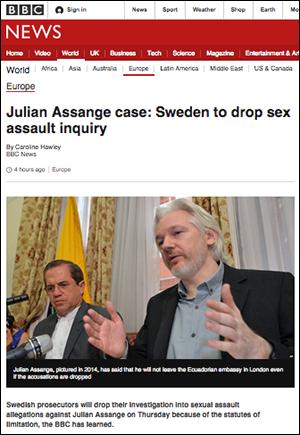 BBC Assange 2015