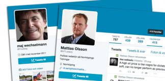 Maj Wechselmann och Mattias Olsson NT. Montage: NewsVoice