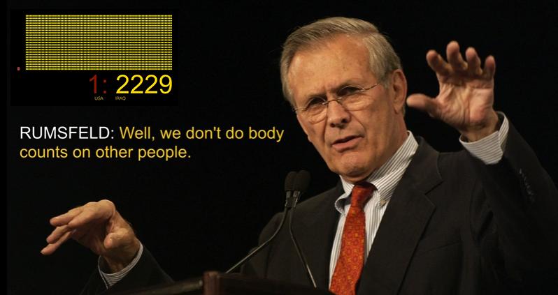 Rumsfeld-bodycount