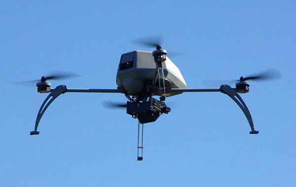 Aerial drone - Photo: Alameda County Sheriffs Office