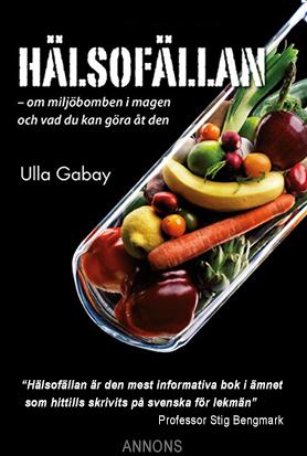 Annons Ulla Gabay bok Hälsofällan