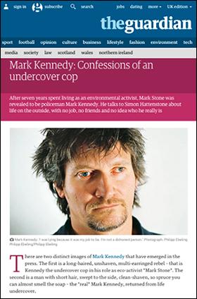 Mark Kennedy alias Mark Stone - Foto: Philippebeling.com