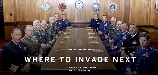 Michael Moore - Where to Invade Next?