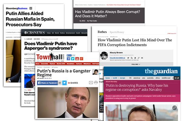 Putin in Western Media 2015