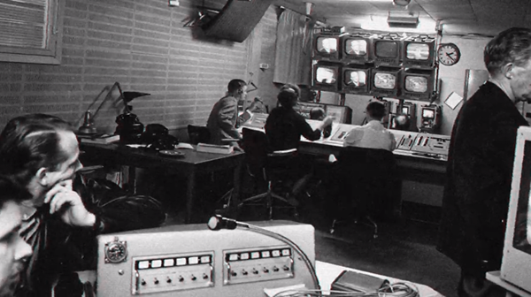 SVT-studio - Foto: SVT arkiv