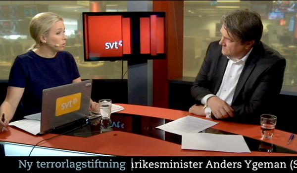 Svensk terrorlagstiftning - SVT