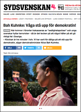 Sydsvenskan-Bah-Kuhnke-demokrati