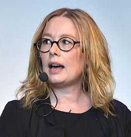 Åsa Linderborg 2014 - Foto: Frankie Fouganthin -Wikimedia Commons
