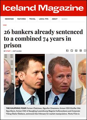 Banksters - Iceland Magazine