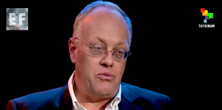 Chris Hedges, journalist - Photo: EmpireFiles TeleSUR