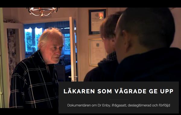 Erik Enby scen husransakan dec 2014