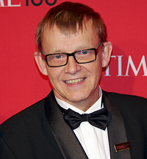 Hans Rosling 2012 - Foto: David Shankbone,   Wikimedia Commons