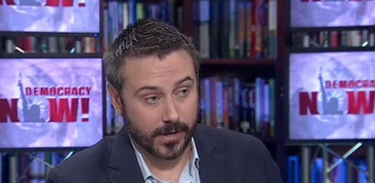 Jeremy Scahill - The Drone Papers. Foto: Democrazy Now