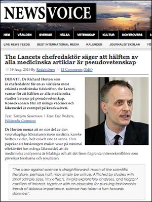 Lancet-Richard-Horton-pseudovetenskap
