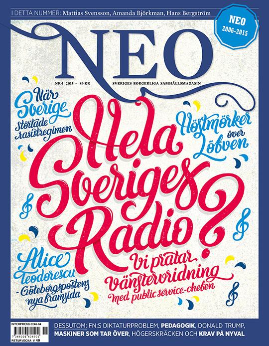 Magasinet NEO sista numret 2015
