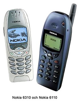 Nokia 6310, Nokia 6110