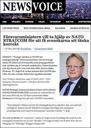 STRATCOM Forsvarsministern 2015