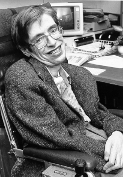 Stephen Hawking - Foto: Wikimedia-Commons