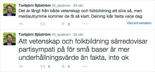 VD Novus Torbjörn Sjöström om VoF:s poll 2015