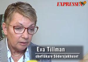 Eva Tillman, Södersjukhuset