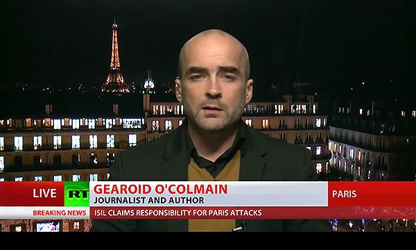 Gearoid O'Colmain - RT.com - 16 nov 2015