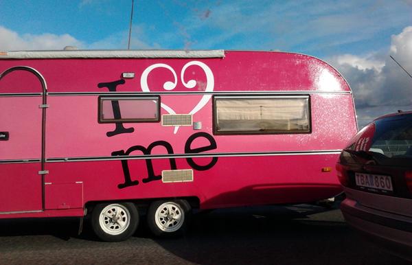 """""""I love-me"""" - Reklam för Gardasil - Foto: Torbjörn Sassersson"""