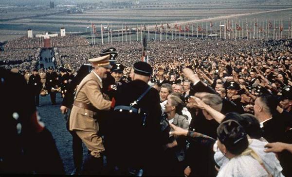 Nazi mass rally 1937