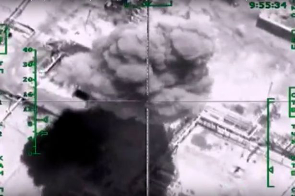 Syrien-bombs