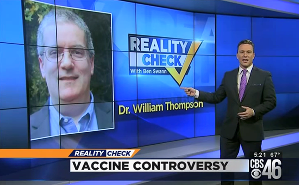 CDC vaccine whistleblower William Thompson given immunity to testify in Congress