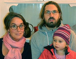 Terno med familj