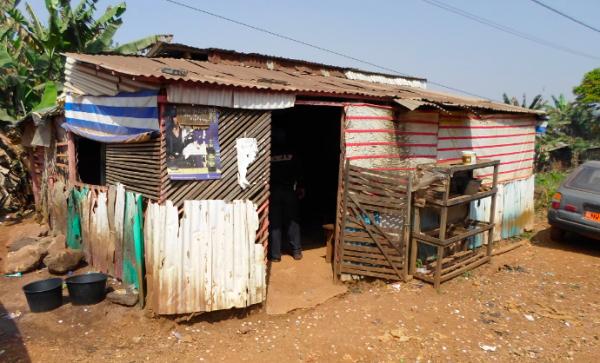 En typisk afrikansk bar på landsbygden - Foto: Torbjörn Sassersson