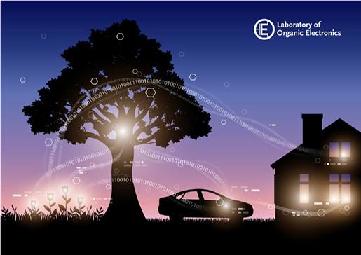 Organic Electronic Tree - Källa: Linköpings universitet