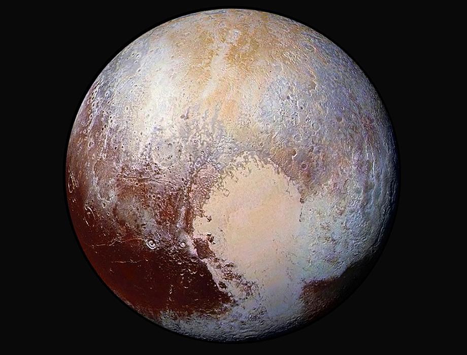 PLUTO NASA dec 2015