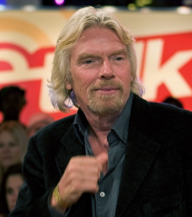 Richard Branson 2008 - Foto: Richard Burdett, Wikimedia Commons