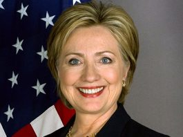 Hillary Clinton, official Secretary of State