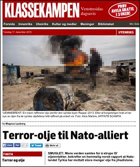 Klassekampen-ISIS-Turkiet