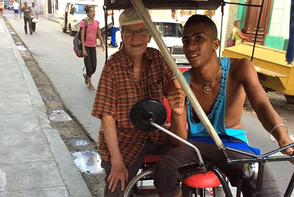Kuba 29 dec 2015 - cykeltaxi - Foto: Jens Jerndal