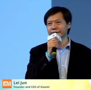 Lei Jun Xiaomi - Foto: Tech In China