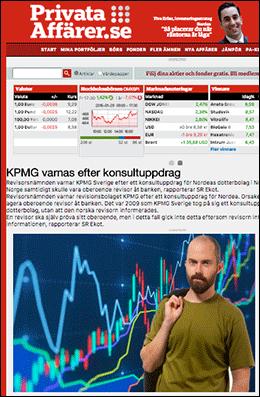 Privata Affärer - KPMG varnas