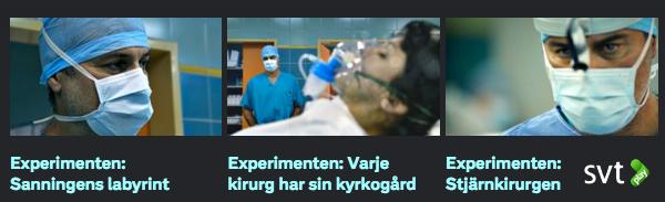 SVT Play Macchiarini-experimenten på KI